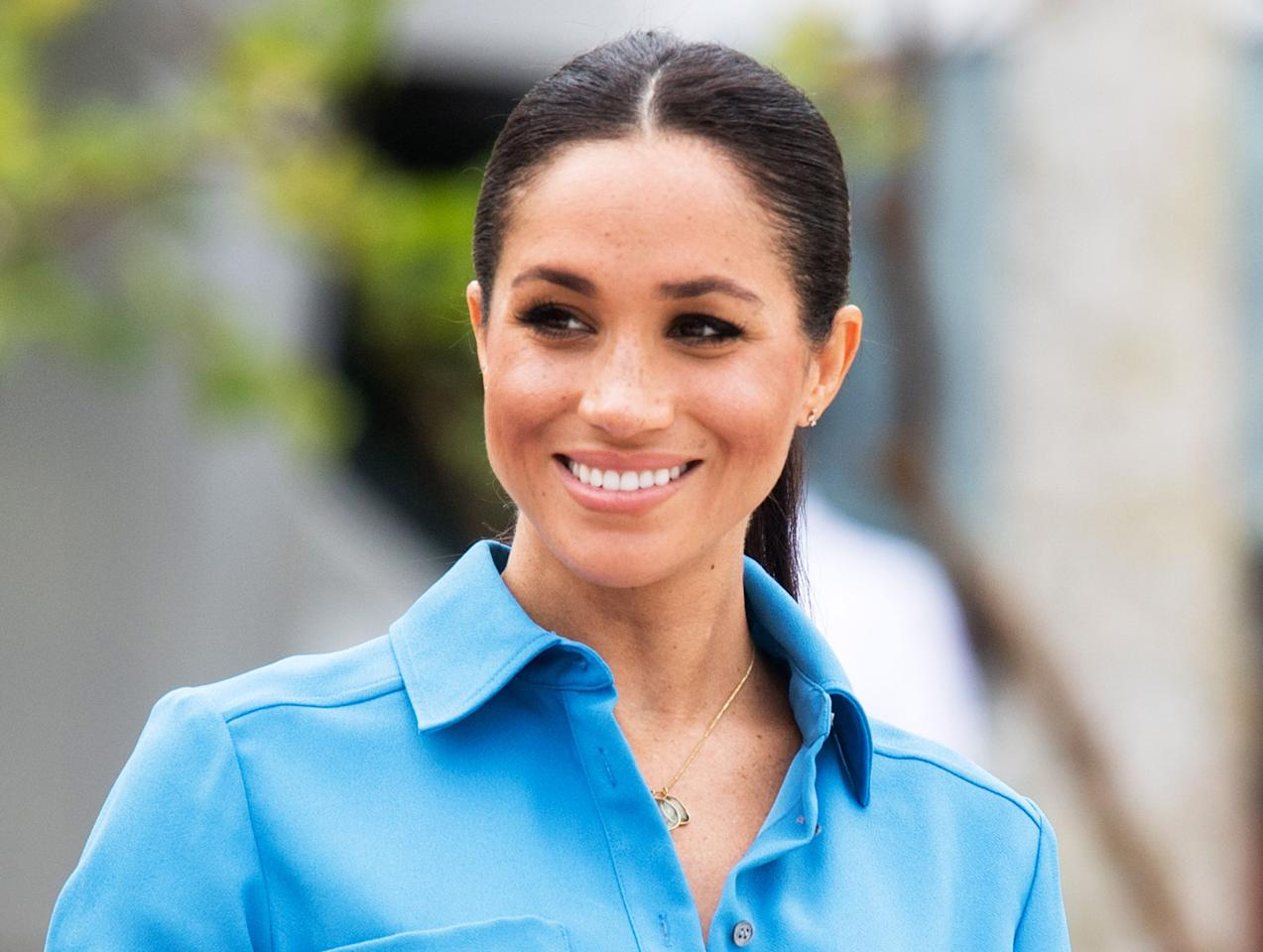 """<p>Since Meghan Markle made her <a href=""""https://www.marieclaire.com/celebrity/news/a29669/prince-harry-and-meghan-markle-break-royal-protocol-holding-hands/"""" target=""""_blank"""">first appearance with Prince Harry</a> in September 2017, royal fans have been obsessively tracking her <a href=""""https://www.marieclaire.com/fashion/a25691977/meghan-markle-favorite-jewelry-brands/"""" target=""""_blank"""">favorite brands</a> and designers. (Remember when she put <a href=""""https://www.marieclaire.com/fashion/a22823519/meghan-markle-strathberry-bag-nordstrom/"""" target=""""_blank"""">Scottish handbag brand Strathberry</a> on the map? Or made <a href=""""https://www.marieclaire.com/fashion/a28423633/meghan-markle-mother-jeans-nordstrom-anniversary-sale-2019/"""" target=""""_blank"""">Mother jeans</a> a brand nobody could stop talking about?) In honor of the Duchess of Sussex's 38th birthday on August 4, we're compiling the ultimate Meghan Markle birthday wish list filled with the brands she's been spotted in repeatedly both in her pre-royal life and currently. Consider it our gift to you, Meg. <br></p>"""