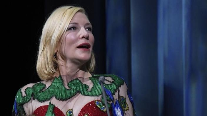 Cate Blanchett was the jury president in the lagoon city