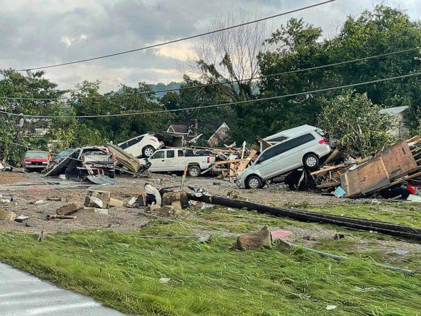 PHOTO: At least 10 people were killed in Humphreys County, Tenn., on Saturday, Aug. 21, 2021, as major flooding swept through the region. (Hardin County Fire Department)