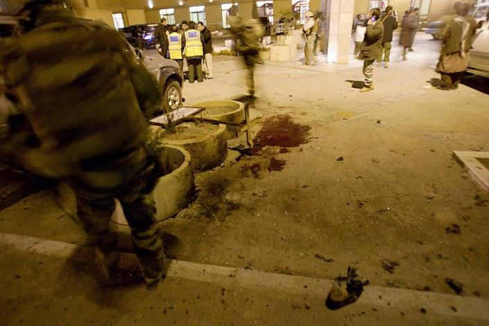 Sirajuddin is alleged to have been involved in the 2008 attack on the Serena Hotel in Kabul (AFP via Getty)