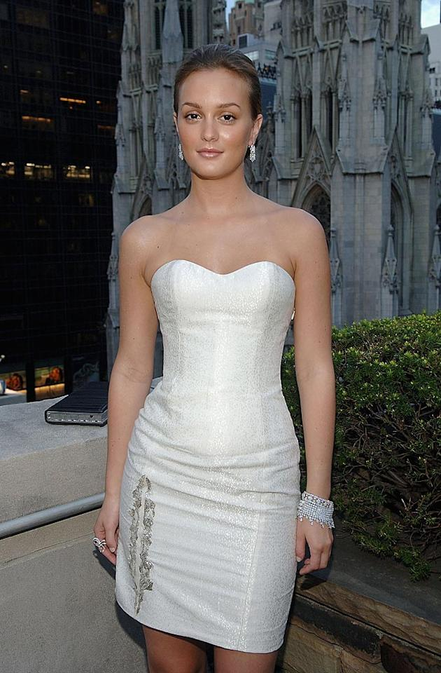 "Her ""Gossip Girl"" cohort Blake Lively is lovely, but the show's breakout star, Leighton Meester, is magnificent. In addition to being gorgeous, the 22-year-old also happens to be TV's most fashionable female since ""SATC's"" Sarah Jessica Parker. Jamie McCarthy/<a href=""http://www.wireimage.com"" target=""new"">WireImage.com</a> - August 7, 2008"