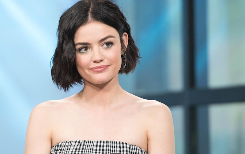 Lucy Hale has zero time for body-shaming trolls.