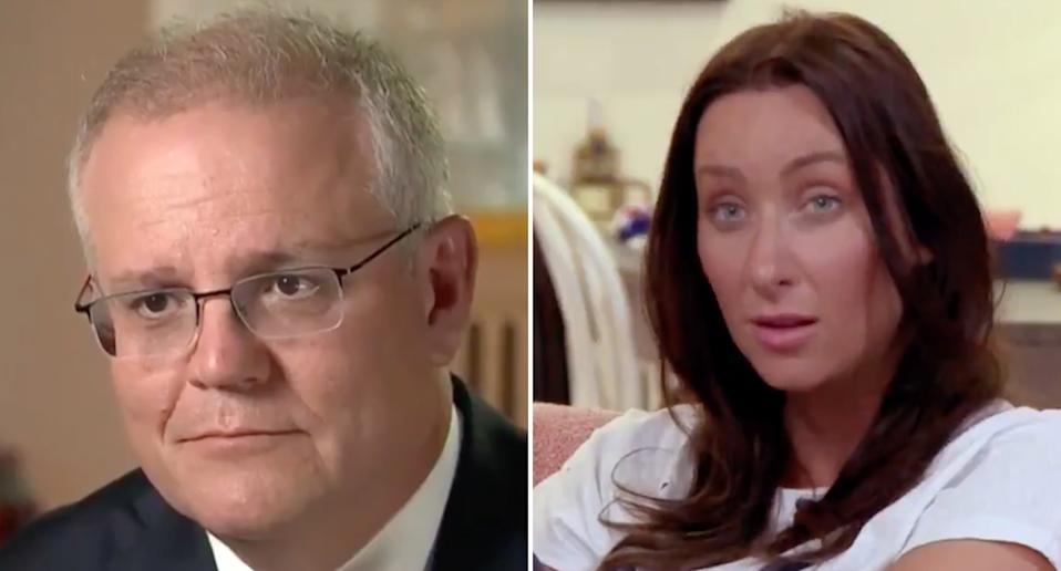 Scott Morrison on A Current Affair viewed by Gogglebox Australia