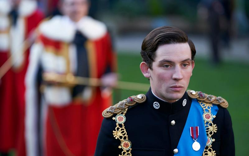 Josh O'Connor as the Prince of Wales in The Crown - Des Willie/Netflix