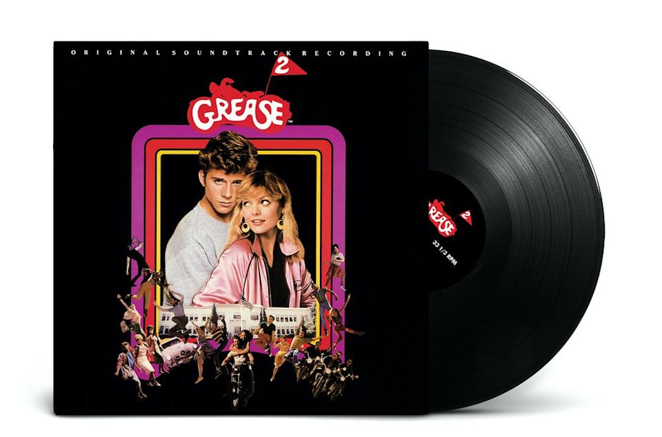 The 'Grease 2' soundtrack vinyl reissue, out Jan. 17, 2020. (Photo: Rusted Wave)