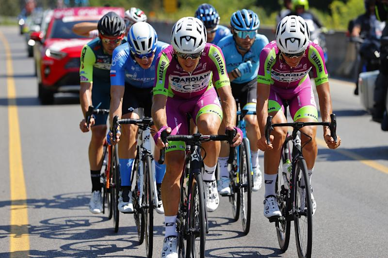 Bardiani had two up front