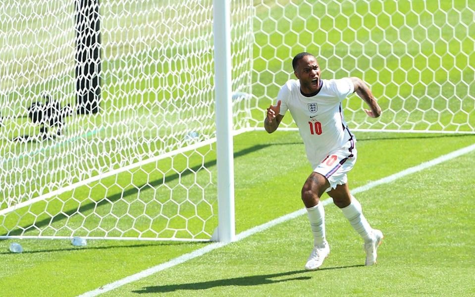 Why playing for England is a release from Raheem Sterling's struggles at Manchester City - OFFSIDE VIA GETTY IMAGES