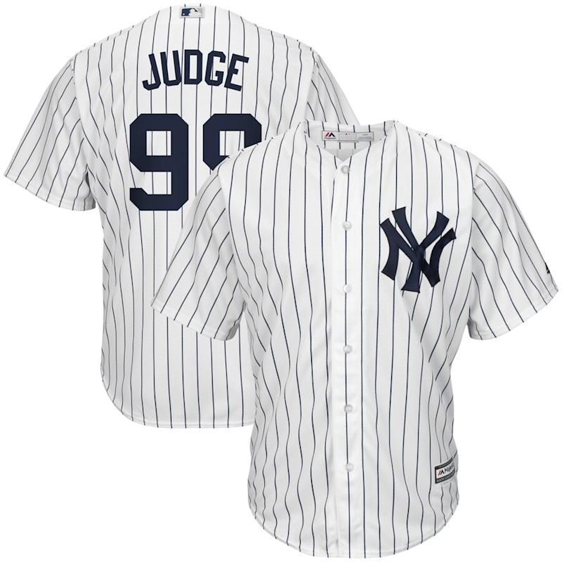 Judge Yankees Cool Base Player Jersey