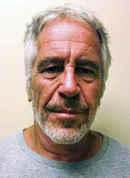 Jeffrey Epstein was awaiting trial on charges of trafficking underage girls for sex (AFP Photo/HO)