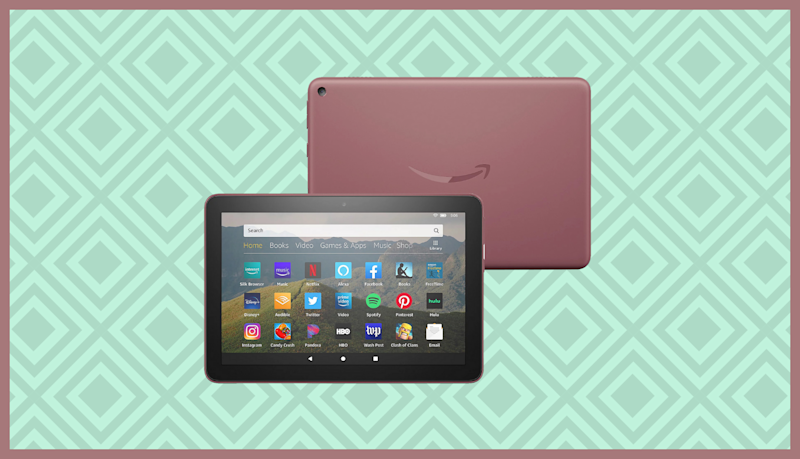 Save nearly 40 percent on the Fire HD 8 and get some free goodies courtesy of QVC. (Photo: Amazon)