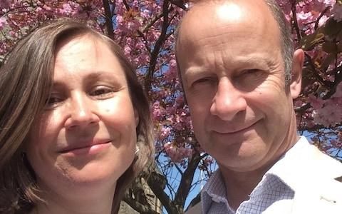 Henry Bolton with his wife Tatiana Smurova-Bolton - Credit: PA