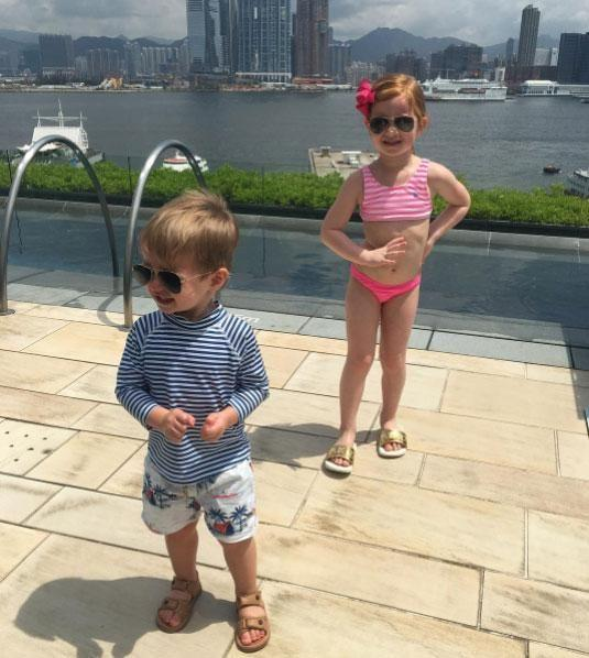 Kids on holiday! Source: Instagram