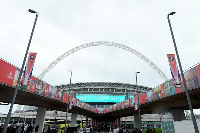 Wembley awaits: Chelsea will face Tottenham at the national stadium on April 22: Getty Images