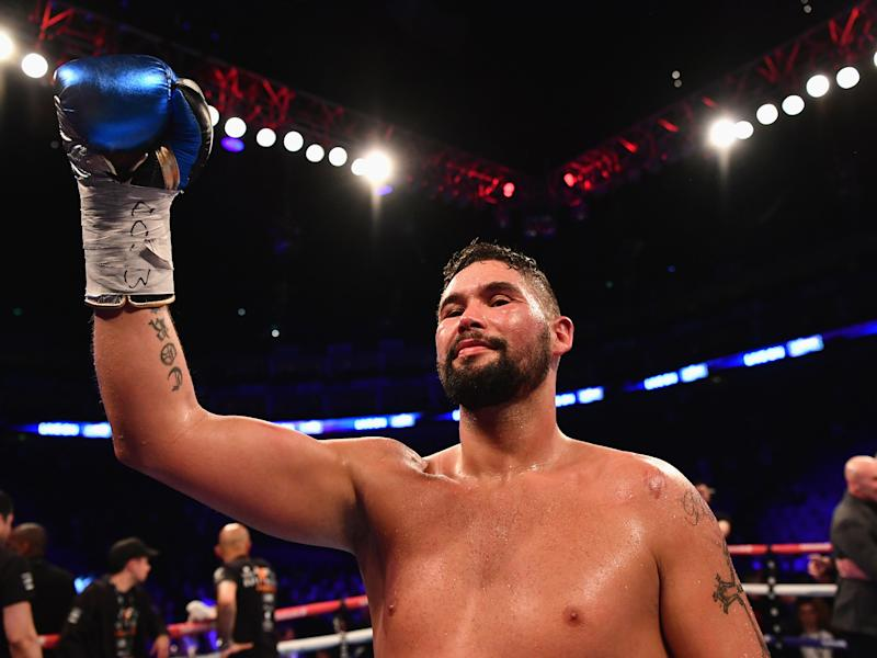 Tony Bellew is yet to forgive David Haye for his pre-fight comments: Getty