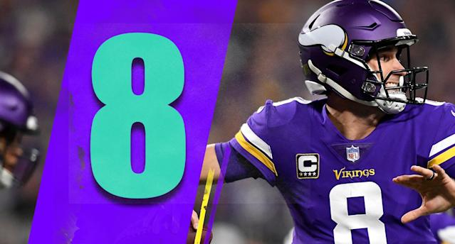 <p>There's a rush to be the first to call Kirk Cousins a bust. How anyone could watch the first half of the Vikings season and believe he's the problem is truly confusing. (Kirk Cousins) </p>