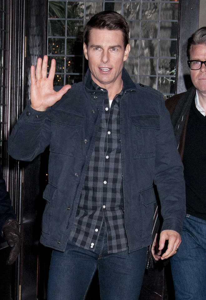 """Tom Cruise handpicked a husband for his daughter Isabella,"" reveals the <em>National Enquirer.</em> Cruise is ""so delighted"" with his choice of musician Eddie Frencher, says the mag, ""he's promised to arrange their entire wedding."" For insider details of the upcoming nuptials, and why the actor's so crazy about his future son-in-law, see what Cruise pal tells <a target=""_blank"" href=""http://www.gossipcop.com/tom-cruise-handpicked-husband-daughter-isabella-eddie-frencher/"">Gossip Cop</a>."