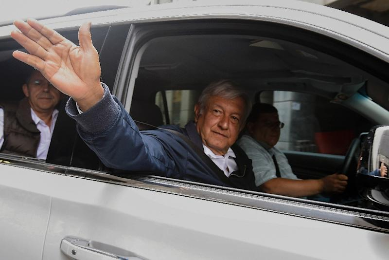 Leftist politician Andres Manuel Lopez Obrador is the front runner in Mexico's July 1 presidential election