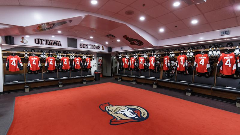 An unnamed member of the Ottawa Senators tested positive for COVID-19. (Photo by Andre Ringuette/NHLI via Getty Images)