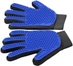 <p>Gently groom and deshed your furry ones with the <span>Pet Grooming Glove</span> ($14). It works with both long and short hair.</p>