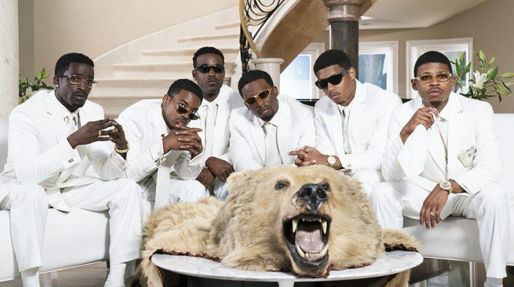 The cast of 'The New Edition Story' (Credit: BET)
