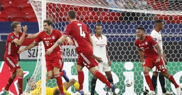 Foot - Supercoupe - Le Bayern Munich remporte la Supercoupe d'Europe face au Séville FC