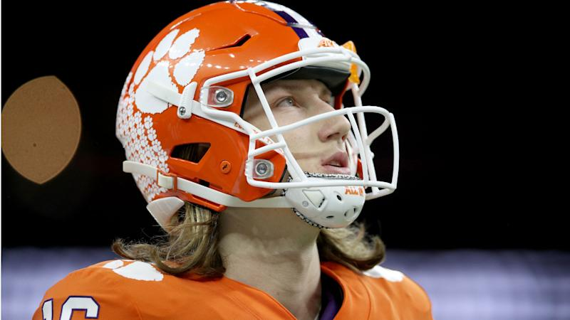 Fans of winless NFL teams are already looking at mock drafts for Trevor Lawrence