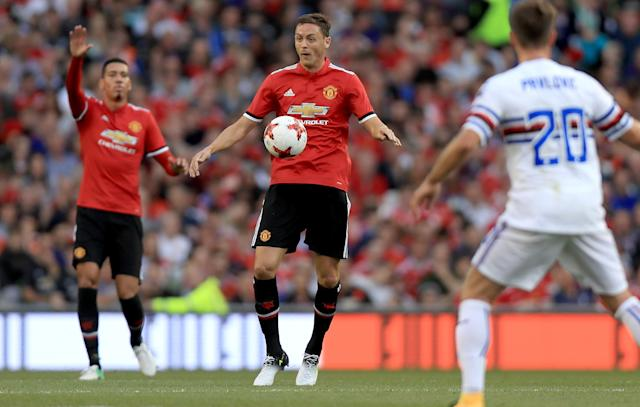Nemanja Matic made a shock move from Chelsea to Manchester United in the summer