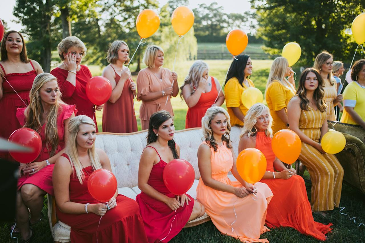 <p>The moment was deeply emotional for many of the moms.</p>