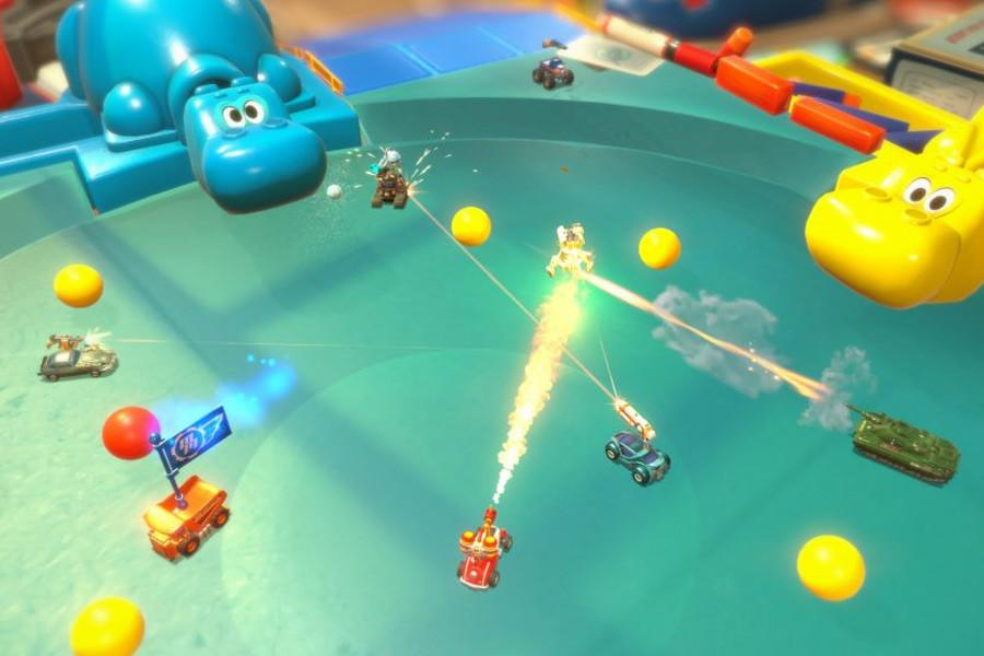 Codemasters has released the first in-game trailer of Micro Machines World Series, the first game of the franchise in more than a decade, and it comes complete with a brand new battle mode.