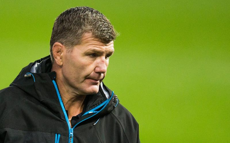 Exeter Chiefs' Head Coach Rob Baxter during the Gallagher Premiership Rugby first semi-final match between Exeter Chiefs and Bath Rugby - Getty Images