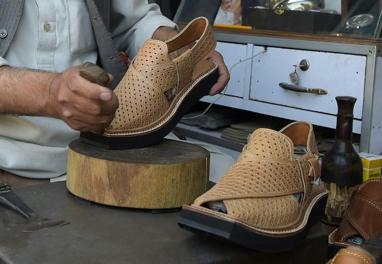 The chappal has long been a staple for ethnic Pashtuns -- from ordinary labourers to the country's political elite -- in Pakistan's northwest, now designer brand Christian Louboutin is taking inspiration from them for a new shoe