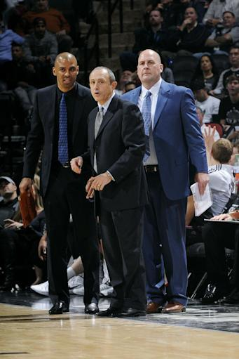 Spurs beat Pacers 106-100 without Popovich