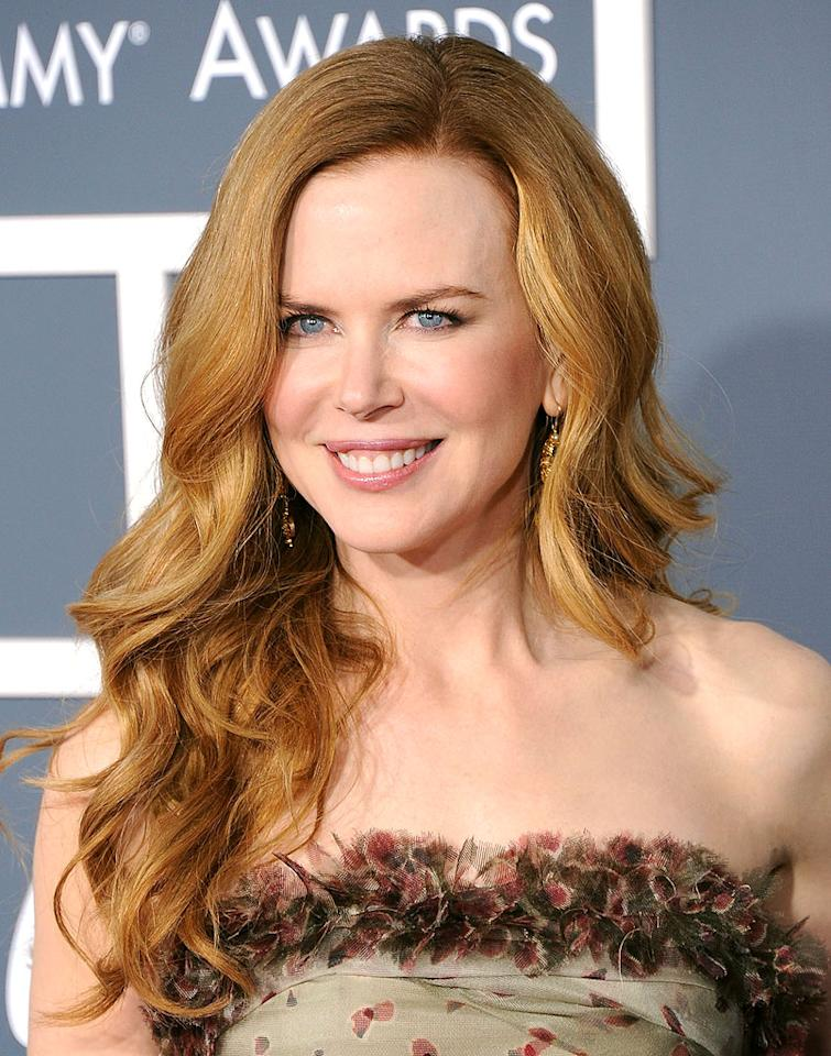 Oscar-winning actress Nicole Kidman is known for three things: she was once married to fellow movie star Tom Cruise, she's now married to country crooner Keith Urban, and she has gorgeous, long naturally-red locks. (02/13/2011)