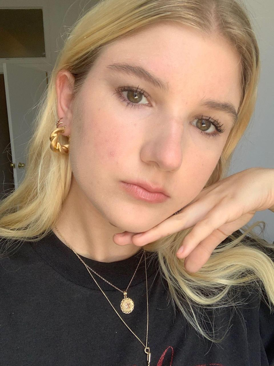 """<h1 class=""""title"""">Bella Hourglass Unlocked</h1> <div class=""""caption""""> Please ignore my peeling forehead and remember to wear SPF. </div> <cite class=""""credit"""">Bella Cacciatore </cite>"""