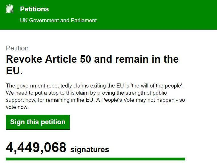 Revoke Article 50 petition: Woman who started campaign receives death threats and 'torrent of abuse'