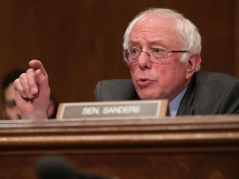 'I wish I could come up with another word,' the US senator said: Getty