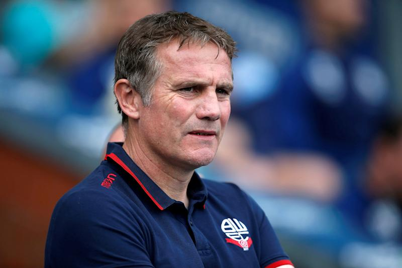 "Soccer Football - Championship - Blackburn Rovers v Bolton Wanderers - Ewood Park, Blackburn, Britain - April 22, 2019 Bolton Wanderers manager Phil Parkinson Action Images/Craig Brough EDITORIAL USE ONLY. No use with unauthorized audio, video, data, fixture lists, club/league logos or ""live"" services. Online in-match use limited to 75 images, no video emulation. No use in betting, games or single club/league/player publications. Please contact your account representative for further details."