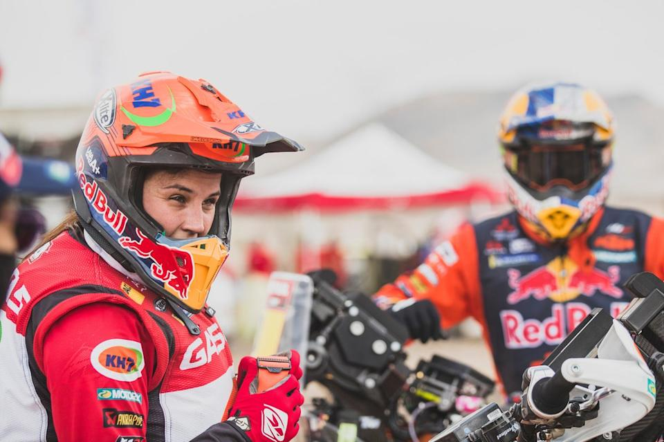 "#44 GASGAS Factory Team: Laia Sanz<span class=""copyright"">Red Bull Content Pool</span>"