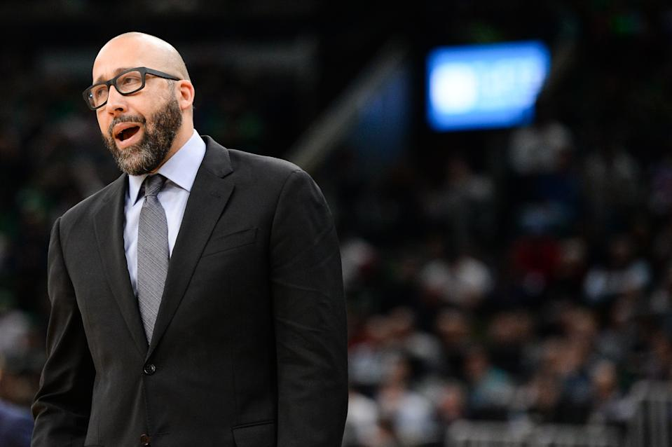 The New York Knicks have fired head coach David Fizdale. (Kathryn Riley/Getty Images)