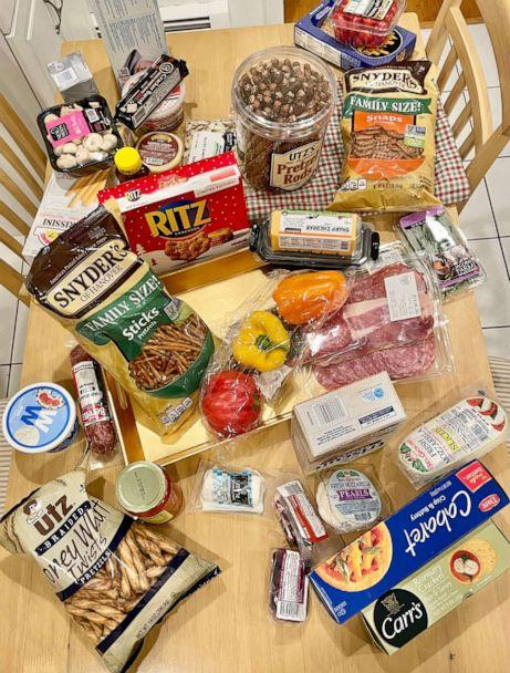 PHOTO: Ingredients needed to build a 'charcuterie chalet.' (ABC News)