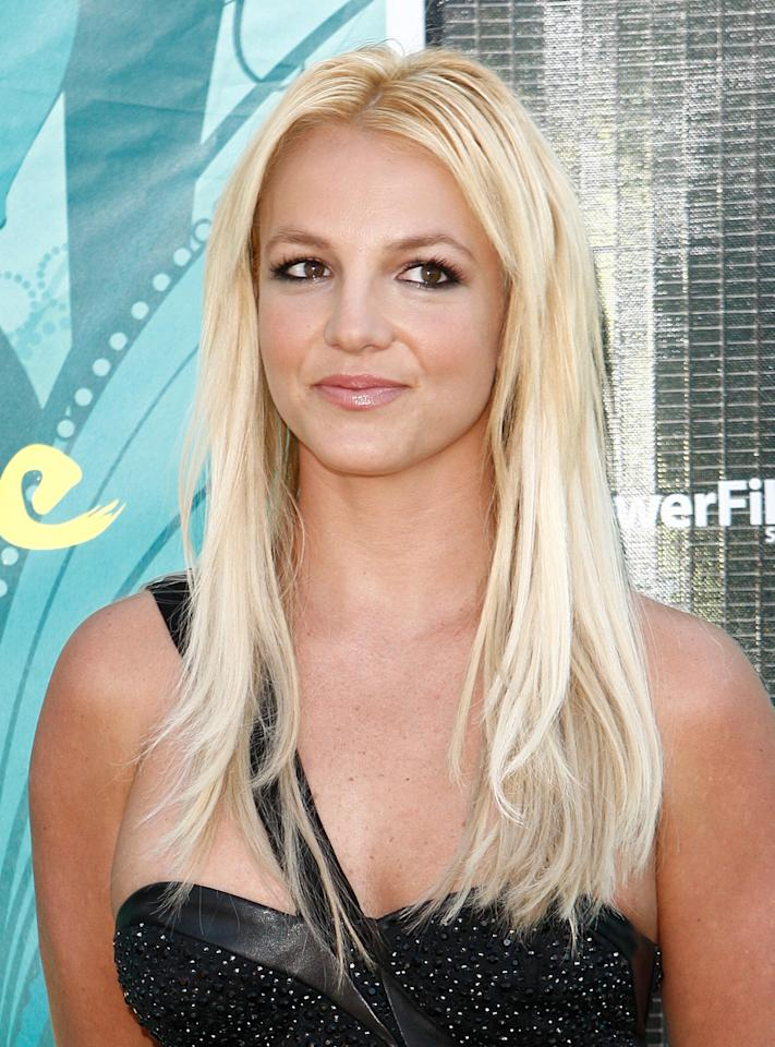 FILE - In this Aug. 9, 2009 file photo, Britney Spears arrives at the Teen Choice Awards in Universal City, Calif.
