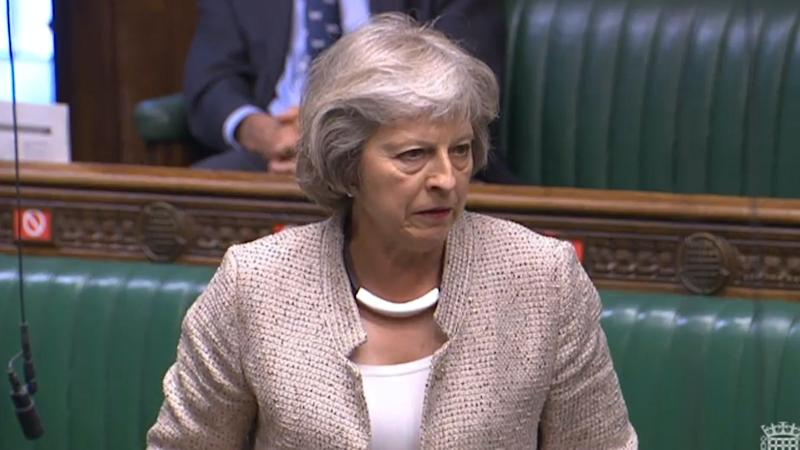 Theresa May urges employers to support domestic abuse victims