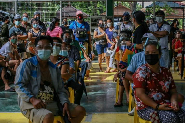 The Philippines has topped two million coronavirus cases (AFP/JAM STA ROSA)