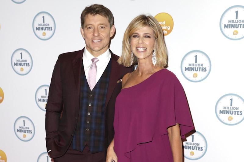 Good friends: BEn Shephard and Kate Garraway at a GMB event in January (Getty Images)
