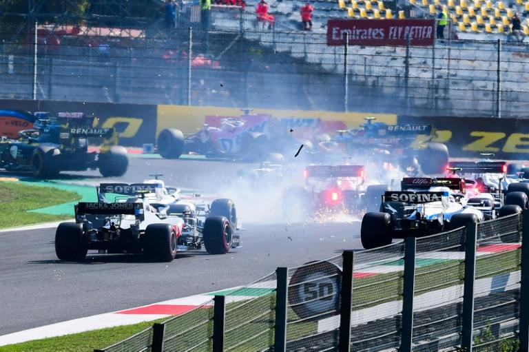 Mayhem at Mugello leaves only 13 cars in Tuscan Grand Prix