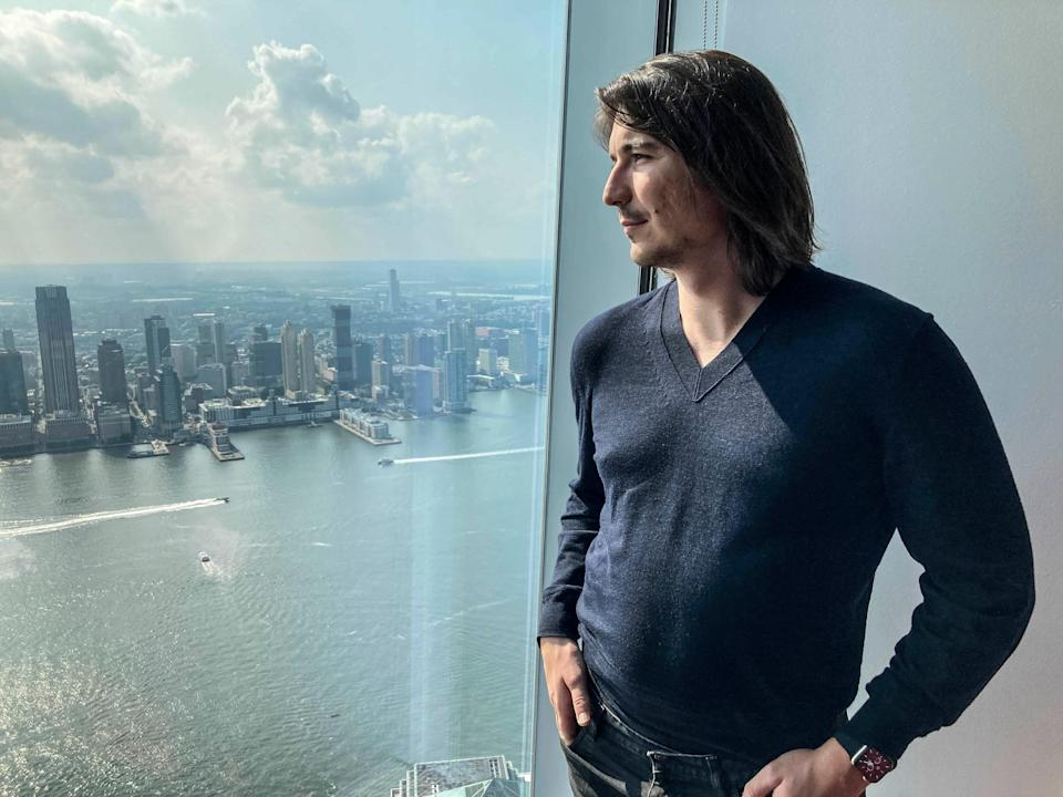 Robinhood CEO-AP Interview (Copyright 2021 The Associated Press. All rights reserved.)