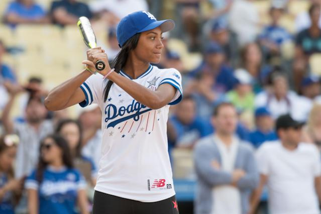 Mo'ne Davis made her collegiate softball debut on Saturday. (Brian Rothmuller/Icon Sportswire via Getty Images)