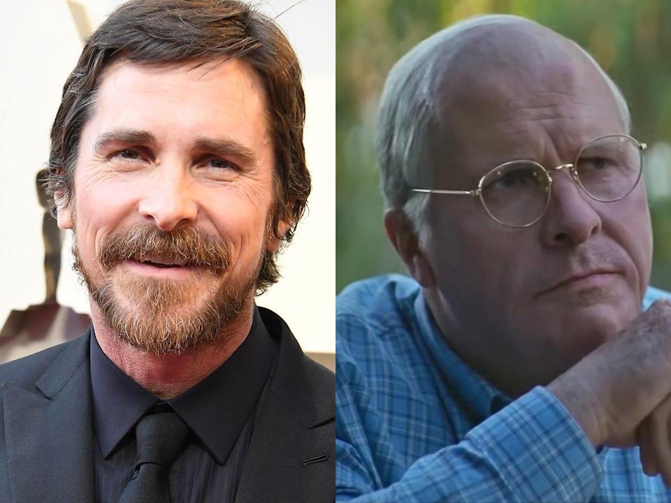 christian bale as dick cheney vice