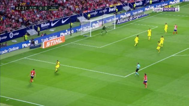 Villareal strike late against Atletico Madrid in 1 all draw