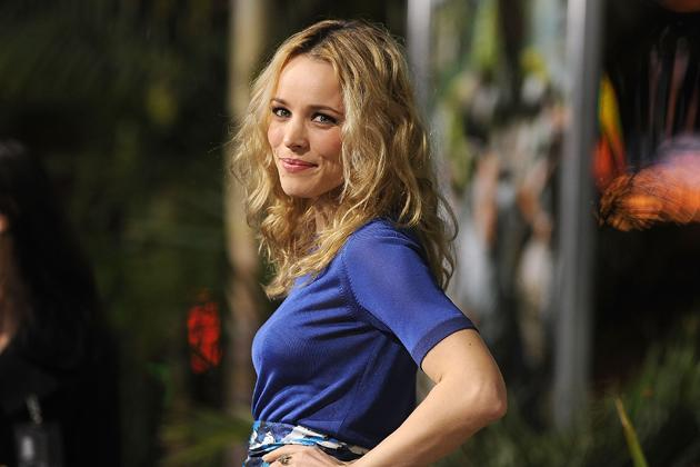 "Rachel McAdams, actress  McAdams's first job was at a McDonald's in Ontario, Canada, where she worked for three years. She told the Huffington Post that she was a greeter at the front of the restaurant because she was ""slow."""